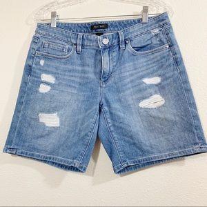 White House /Black Market Jean Shorts